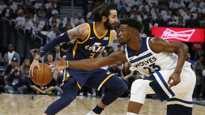 NBA 2017-18 nella notte del 2 Aprile Rubio ritorno e vendetta, al Target Center vincono gli Utah Jazz