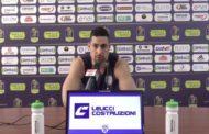 Lega A PosteMobile 2017-18: Capitan Marco Cardillo suona la carica per la sua Brindisi vs l'Orlandina