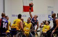 Basket in carrozzina #SerieAFipic Semifinale 2017-18: l'UnipolSai Briantea84 espugna il campo di Roma e serie sulla parità ci si gioca tutto in Gara3 a Seveso