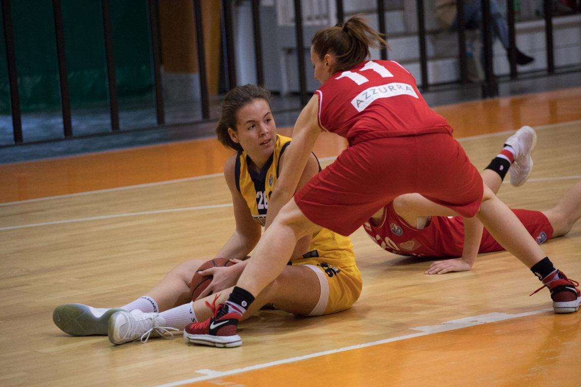 Lega A2 Femminile girone Sud 2017-18: il San Raffaele Basket Roma deve cedere in casa alla Cestistica Orvieto