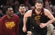 NBA playoffs 2017-18: il ruolo di Kevin Love nella vittoria di Cleveland, all'ombra di uno straordinario LeBron.