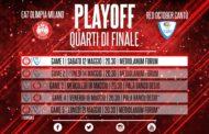 Lega A Postemobile Playoffs 2018: la presentazione di Milano-Cantù