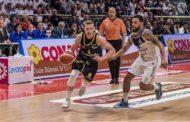 A2 Old Wild West Playoffs 2018: Andrea Amato playmaker della Tezenis inquadra gara 2 in casa della Consultinvest Bologna