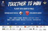 Lega A Postemobile Playoffs 2018: la presentazione di Brescia-Varese