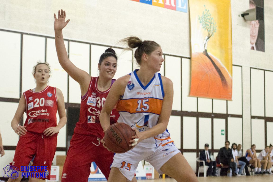 Lega A2 Femminile girone Sud Playoffs Sorbino 2018: è finale per AndrosBasket Palermo che batte Civitanova Marche nella Serie