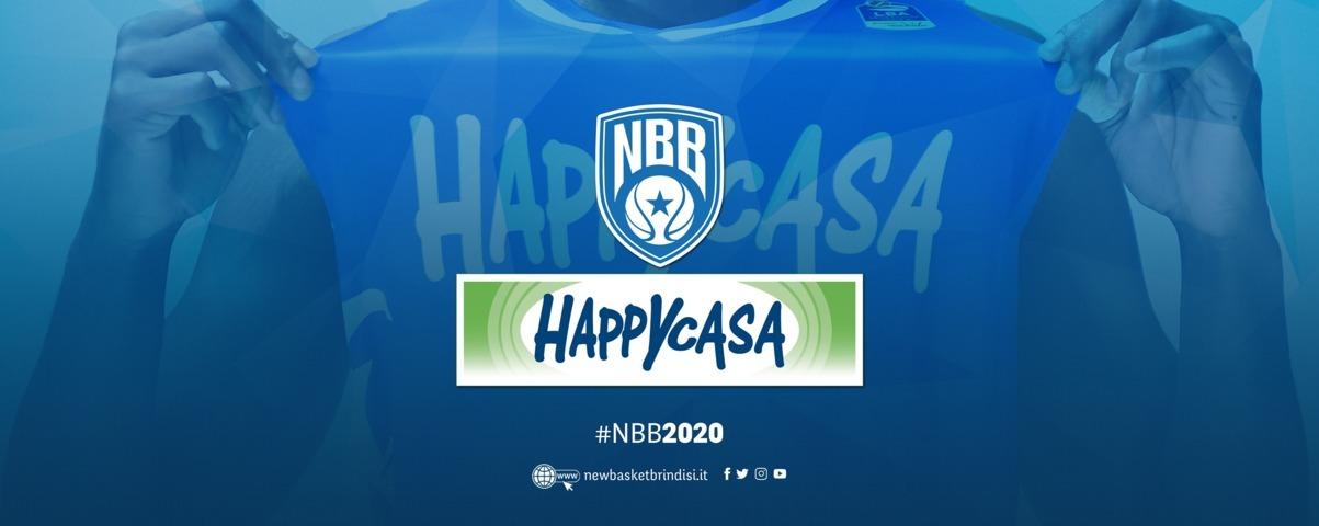 Lega A PosteMobile 2018-19: Happy Casa Store si lega alla New Basket Brindisi sino al 2020