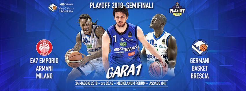 Lega A PosteMobile Semifinale Playoff 2018: coach Andrea Diana presenta Gara1 a Milano della sua Leonessa giovedì 24 maggio