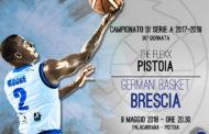 Lega A PosteMobile 2017-18: al PalaCarrara la Leonessa chiude la stagione regolare contro Pistoia