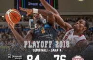 Lega A PosteMobile Semifinali Playoff 2018: incredibile Trento ancora battuta Venezia in Gara4 84-76 ed è Finale Scudetto per il 2° anno consecutivo