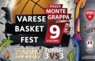 Tornei 3X3 2018: il 9 giugno #VareseBasketFest 2K18 organizzato con la Pallacanestro Varese
