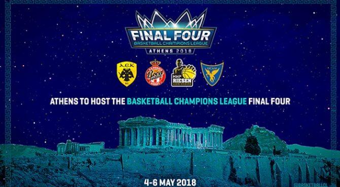 FIBA Champions Cup 2017-18 la finale sarà AEK Atene vs AS Monaco