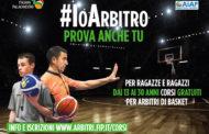 Fip - Italbasket 2017-18: la nuova campagna di reclutamento arbitri è #IoArbitro-Prova anche Tu