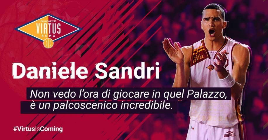 A2 Ovest Old Wild West Mercato 2018-19: il primo arrivo in casa Virtus Roma è un ritorno ed è Daniele Rio Sandri