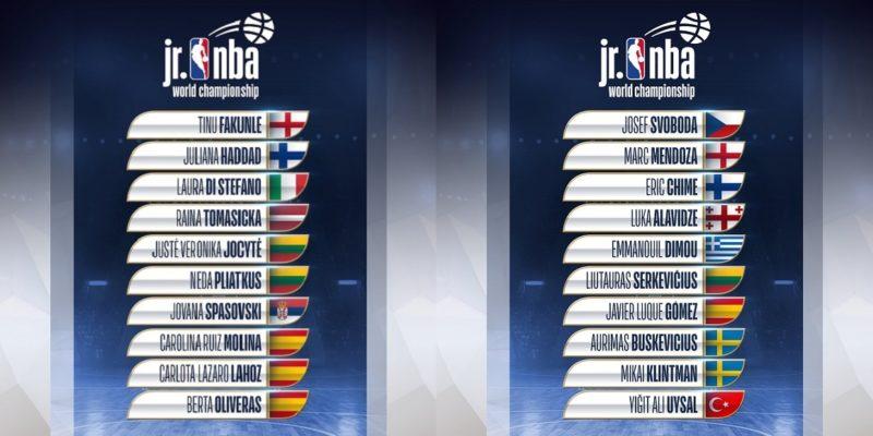 Jr. NBA annunciate le due squadre Europee per il torneo internazionale dei ragazzi/e di 13 e 14 anni