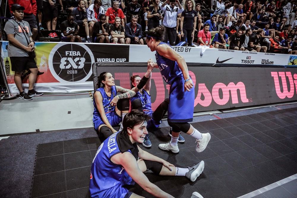 Nazionale Femminile 3x3 Europe Cup 2018: le azzurre alla qualificazione ad Andorra per l'Europeo 2018
