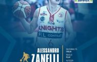 Lega A PosteMobile mercato 2018-19: Alessandro Zanelli ha firmato con la Happy Casa Brindisi