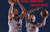 A2 Ovest Old Wild West Mercato 2018-19: la Leonis Roma conferma per 2 anni i romani purosangue Daniele Bonessio ed Eugenio Fanti