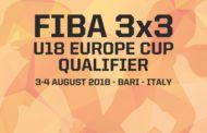 Nazionali Maschile Femminile 3x3 2018: a Bari venerdì 3 e sabato 4 agosto le qualificazioni all'Europeo U18