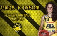 Lega A1 Femminile Mercato 2018-19: al Fila San Martino Lupebasket riapproda Federica Tognalini