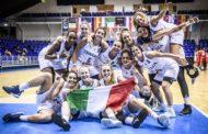 Nazionale Femminile 2018: l'Italbasket U20F si conferma tra le prime 4 d'Europa battuto il Portogallo nei quarti 70-42 ora la Serbia in semifinale