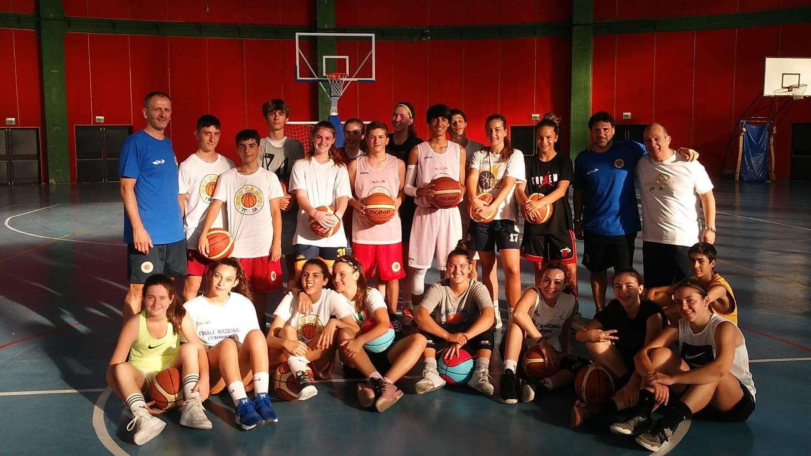 Giovanili Maschili Femminili 2018: una bellissima esperienza l'NBC CAMP a Castel di Sangro