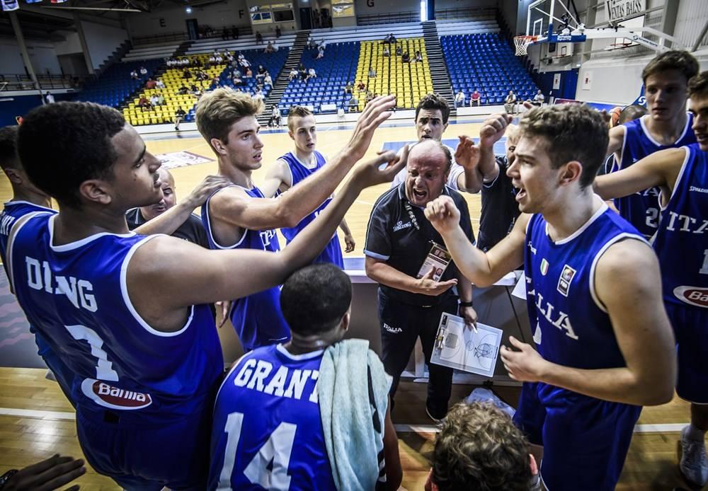 Nazionali Maschili 2018: brava Italbasket U18M che risorge dalle ceneri e batte la Croazia 74-67 agli europei di categoria in Lettonia
