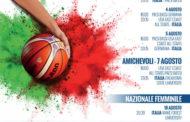 Nazionali 2018: Vicenza in agosto sarà il cuore pulsante dell'Italbasket maschile e femminile