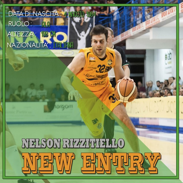 Serie B Old Wild West mercato 2018-19: la Pallacanestro Palestrina dà il benvenuto a Nelson Rizzitiello