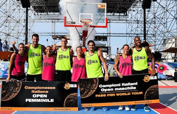 Finali 3X3 Italia 2018: le donne di Ancona e gli uomini di Cremona sono i Campioni di Italia