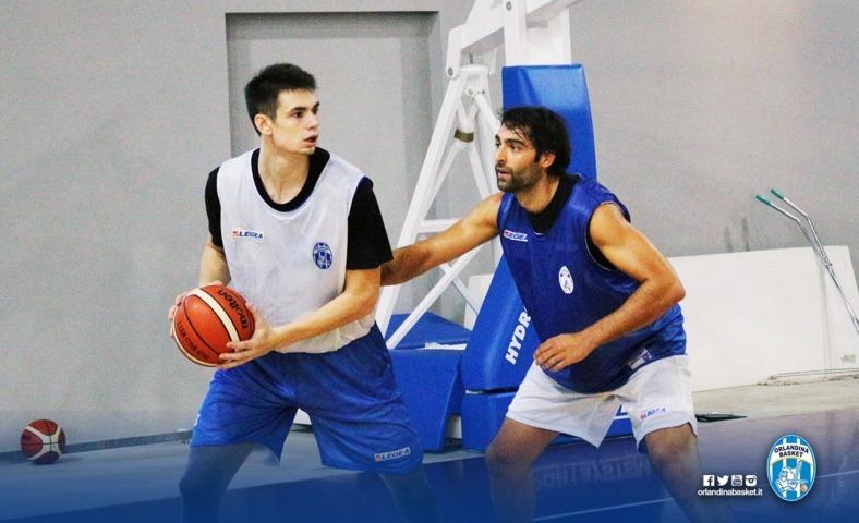 Lega A PosteMobile precampionato 2018-19: la parola al giovane Andrea Donda dell'Orlandina Basket