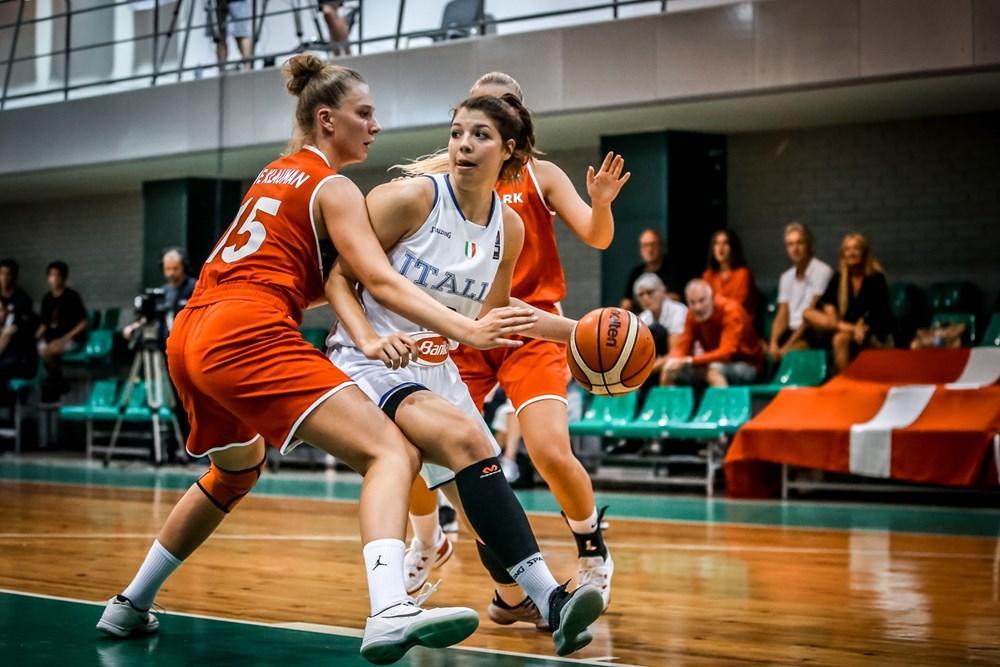 Nazionale Femminile 2018: è sempre grande Italbasket U16F agli Europei battuta agli ottavi anche la Danimarca mercoledì 22 l'ostacolo Francia ai quarti