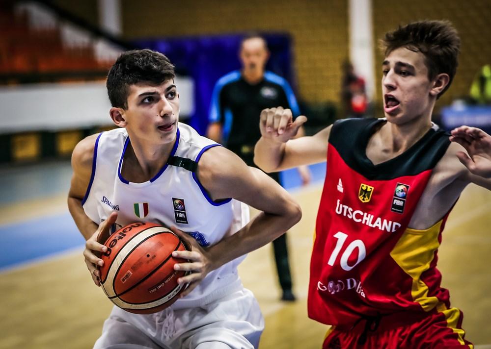Nazionale Maschile 2018: anche la Germania U16M supera l'Italbasket sabato 18 alle ore 13:45 rivincita vs l'Estonia per l'11° posto