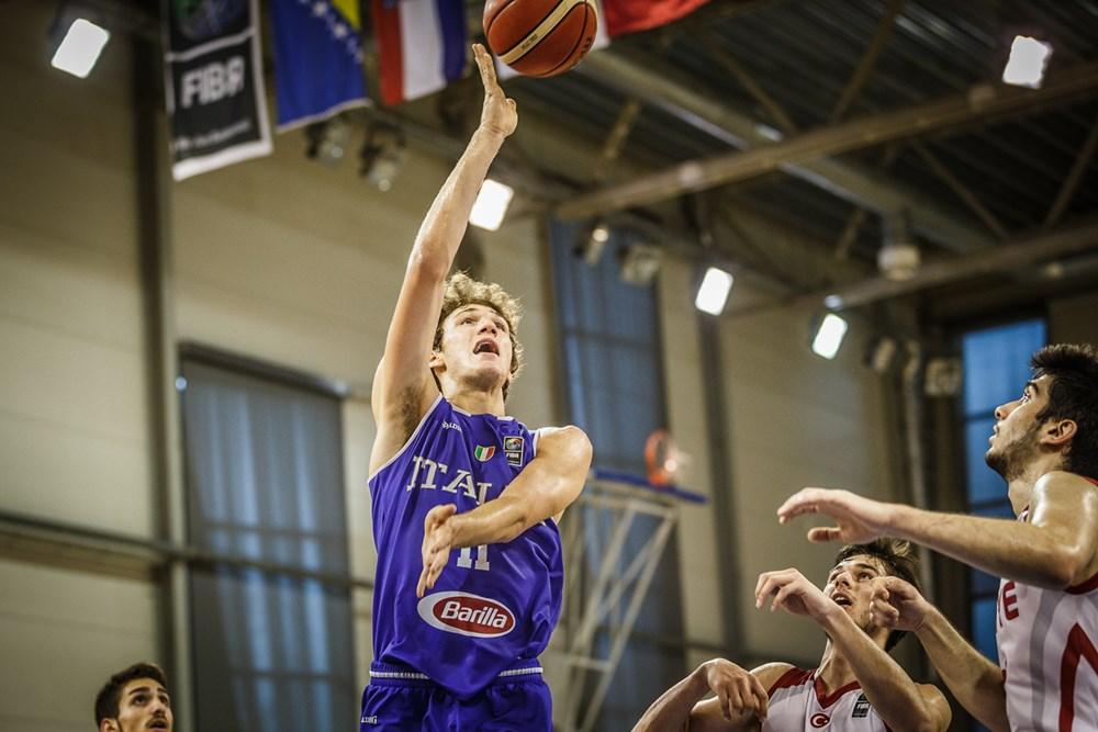 Nazionale Maschile 2018: parziale riscatto Italbasket U18M all'Europeo in Lettonia battuta la Turchia per il 9° posto ora c'è la Spagna