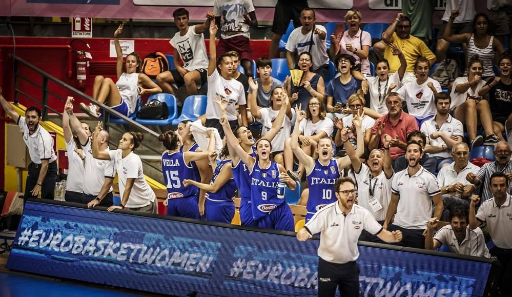 Nazionale Femminile 2018: che cuore l'Italbasket U18F agli Europei FIBA di Udine battono in rimonta il Belgio mercoledì 8 agosto c'è la Germania agli ottavi