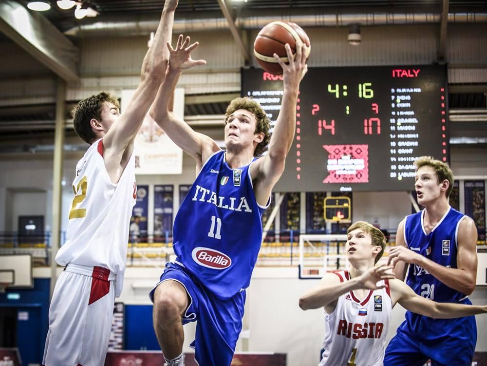 Nazionali Maschili 2018: sconfitta agli ottavi di finale l'Italbasket U18M agli europei in Lettonia la Russia vince facile ora si lotta per non retrocedere in Division B