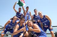FIBA Europe 3x3 2018: bravi Italbasket U18M ed U18F che superano la fase di Qualificazione a Bari vincendo i loro gironi