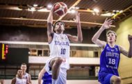 Nazionale Maschile 2018: nuova debacle Italbasket U16M nel 2° match di FIBA Europe -15 dall'Estonia