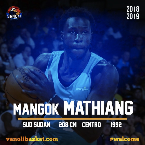 Lega A PosteMobile mercato 2018-19: chi è Mangok Mathiang nuovo straniero della Vanoli Cremona