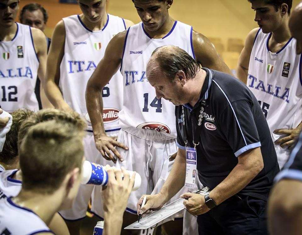 Nazionale Maschile 2018: suda freddo l'Italbasket U18M che per battere la Bosnia ci mette due OT la Division A è salva!