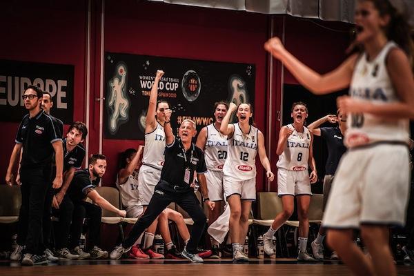 Nazionali femminili 2018: l'Italbasket U18 batte la Serbia e domenica 12 agosto giocherà per il 9° posto con la Croazia agli Europei di Udine