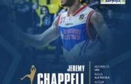 Lega A PosteMobile Mercato 2018-19: Jeremy Chappell, l'esperto di playoff, approda all'Happy Casa Brindisi