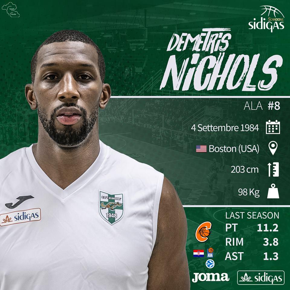 Lega A PosteMobile precampionato 2018-19: è stata la giornata di Demetris Nichols ad Avellino in ottica Torneo Pro Stars in Francia