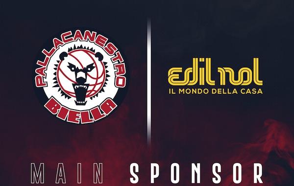 A2 Ovest Old Wild West 2018-19: Edilnol è il nuovo Main sponsor della Pallacanestro Biella