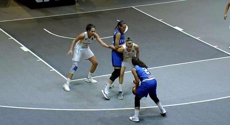 FIBA 3x3 Europe Cup Femminile 2018: l'Italbasket Rosa non è scintillante ma passa ai quarti ora la Rep. Ceca