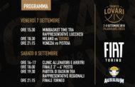 Lega A PosteMobile precampionato 2018-19: da venerdì 7 settembre il prestigioso Torneo Lovari per la FIAT Torino a Lucca con Milano, Venezia e Pistoia