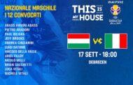 FIBA World Cup Qualificazioni 2018-19: lunedì 16 settembre 2° turno del girone di qualficazione ed Italbasket vs la sorpresa Ungheria