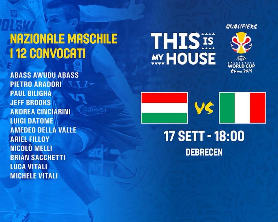 FIBA World Cup Qualificazioni 2018 19 Luned 16 Settembre 2 Turno Del Girone
