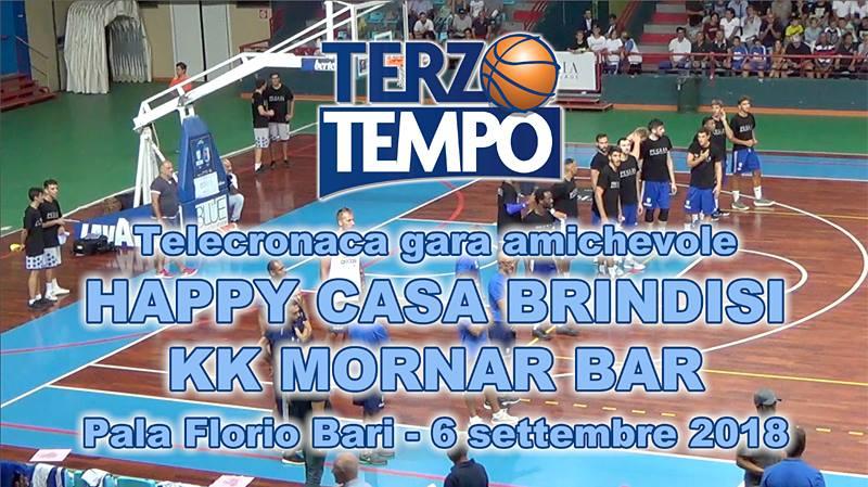 Lega A PosteMobile precampionato 2018-19: anche la Happy Casa Brindisi ha avuto il suo debutto nella preseason battendo il KK Mornar Bar