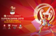 Zurich Connect Supercoppa 2018: nel nuovo PalaLeonessa di Brescia la sfida delle #Big4 per il primo titolo in stagione