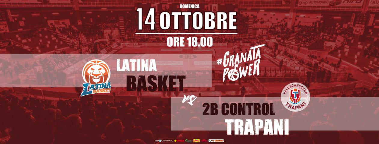 A2 Ovest Old Wild West 2018-19: debutto al PalaBianchini per il Latina Basket arriva la tostissima Trapani